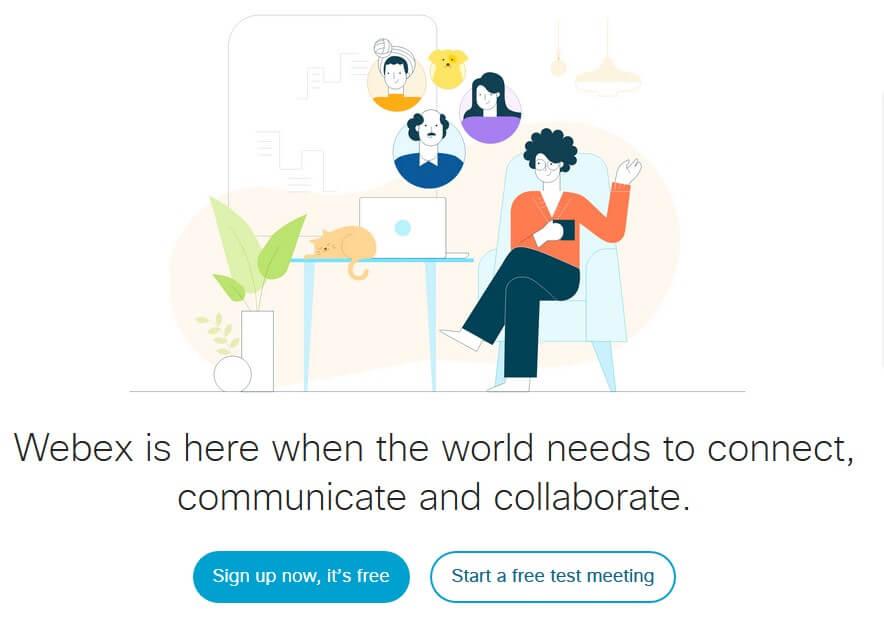 how to use webex meeting cisco