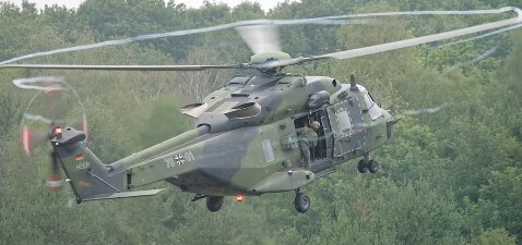 NH90 TTH Helicopter