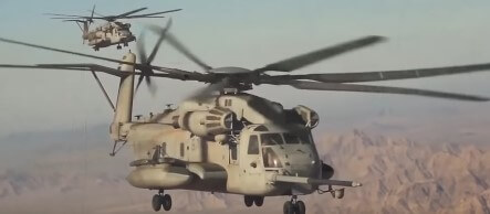 Sikorsky CH-53E Super Stallion Helicopter