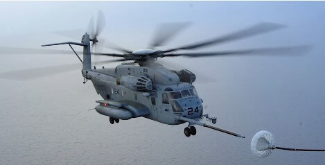 The Sikorsky CH-53K King Stallion Helicopter
